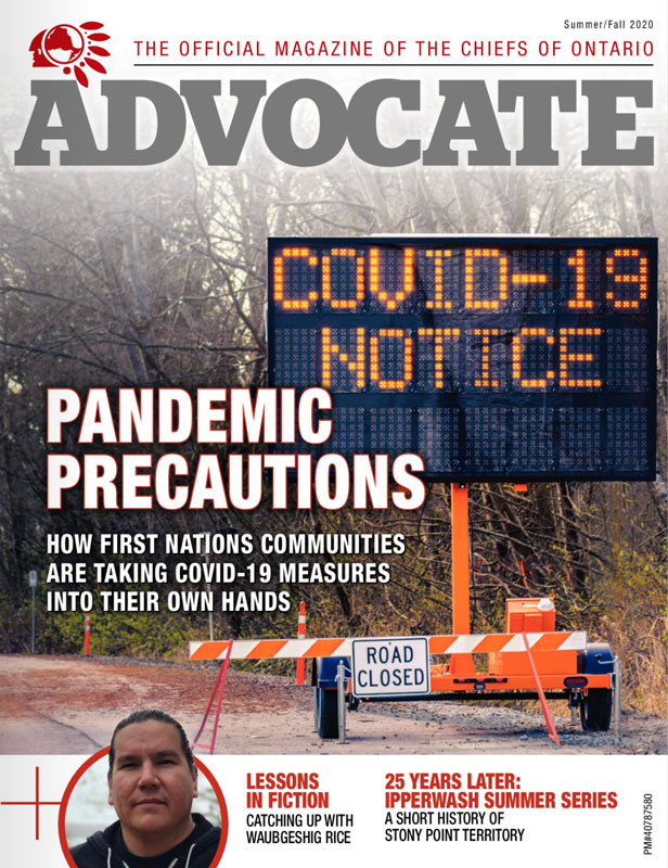 Click to view Issue 8 of The Advocate