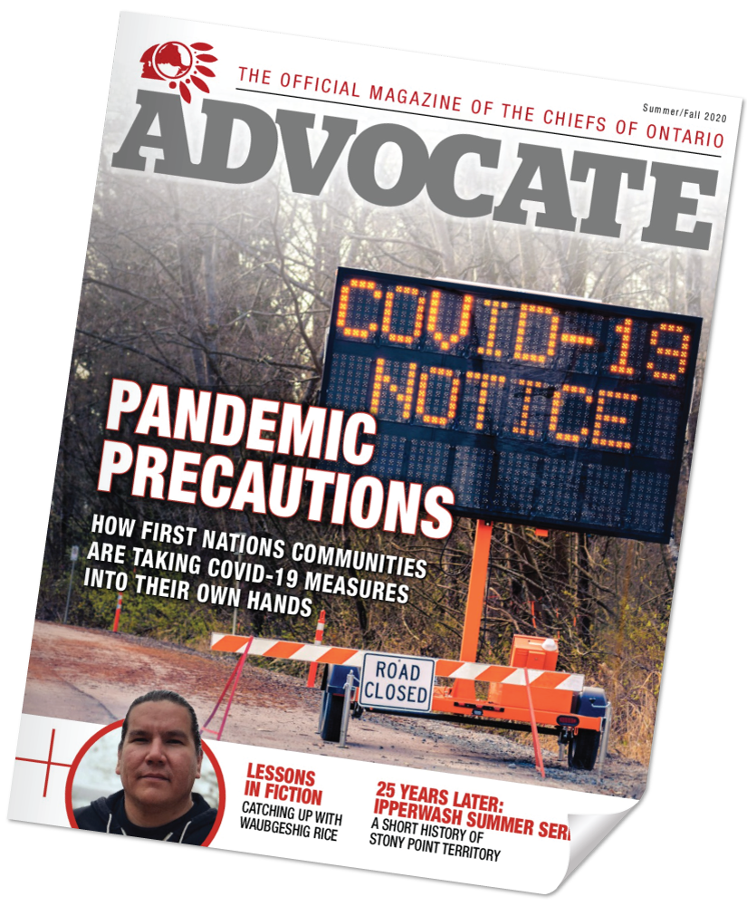 Issue 8 of The Advocate